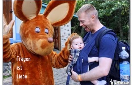 """""""…richtig nah bei der Mama""""- Tragen ist Liebe::: Bericht von Stefanie"""
