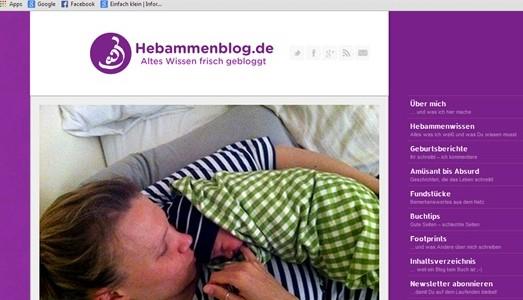 Meine Hypnobirthing-Hausgeburt::: Bericht im Hebammenblog