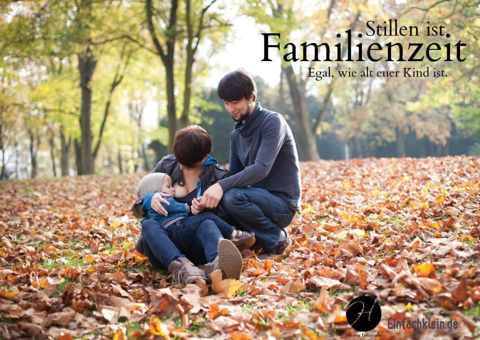 Stillen ist Familienzeit