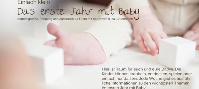 """Krabbelgruppe """"Das erste Jahr mit Baby"""""""