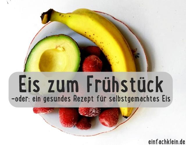 Titelbild Erdbeer-Avocado-bananeneis