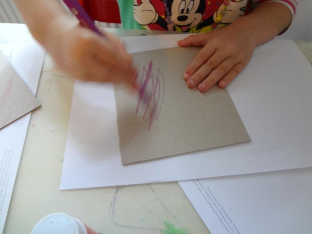 Pappbuch malen