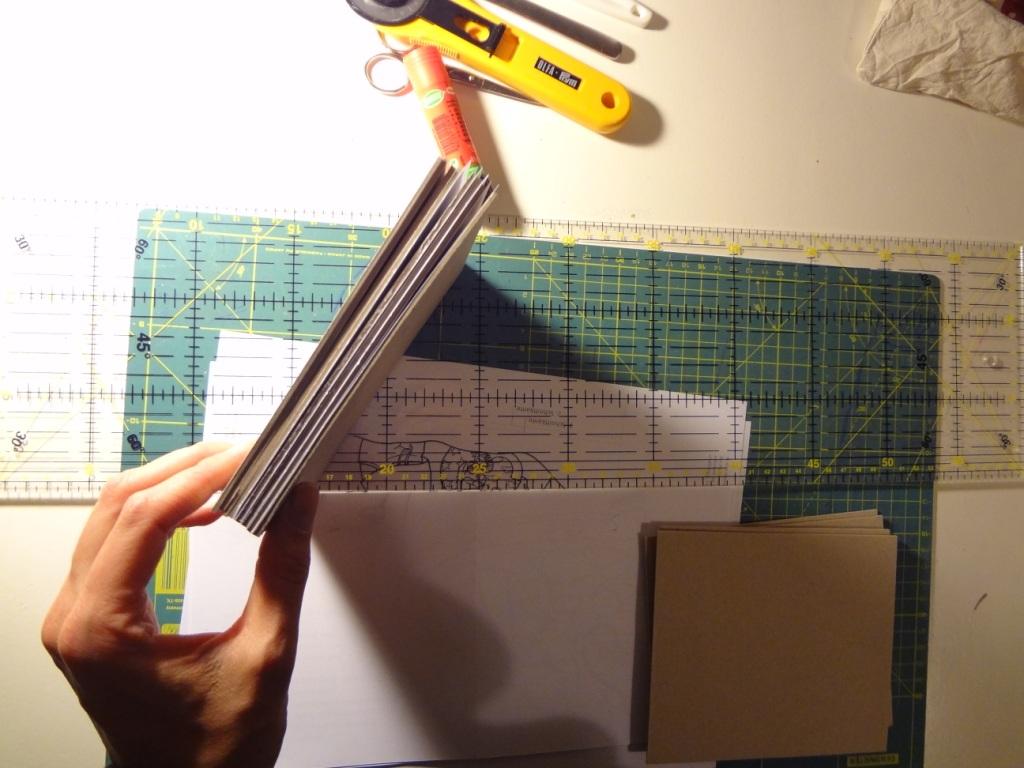 Pappbuch oben