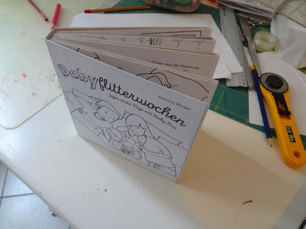 Pappbuch seitlich